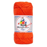 119 Orange COTTON 8/4 JUNIOR, MAYFLOWER