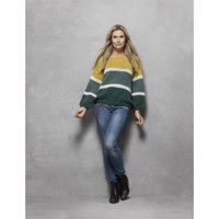 4614, Green and Yellow, i Dolce Mohair