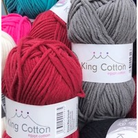 KING COTTON Tykt Bomuldsgarn