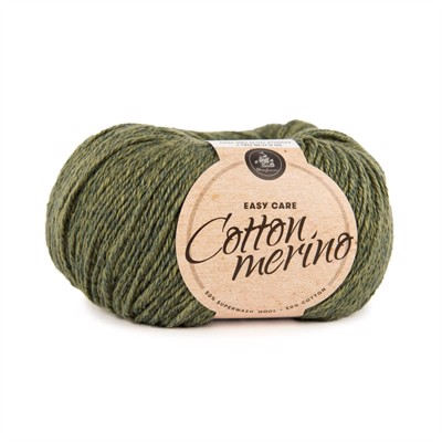 MAYFLOWER  EASY CARE - COTTON MERINO - S13 Mørk Oliven