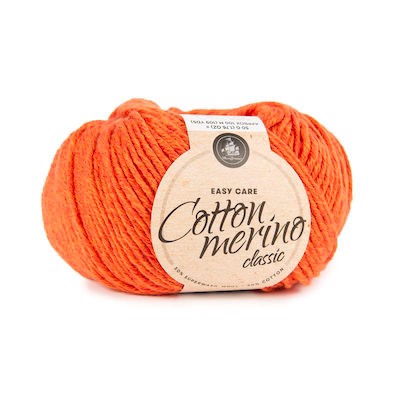 MAYFLOWER  EASY CARE CLASSIC - COTTON MERINO - S107 Orange