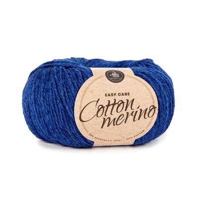 MAYFLOWER  EASY CARE - COTTON MERINO - S15 Koksblå