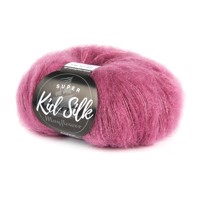 MAYFLOWER Super Kid Silk, 16 Mørk Rosa