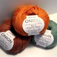 ONION No 3 ORGANIC WOOL+NETTLES